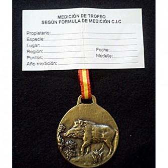 Medalla Bronce Jabali