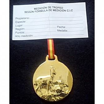 Medalla Corzo Oro
