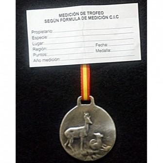 Medalla Plata Corzo