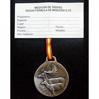 Medalla Plata Gamo