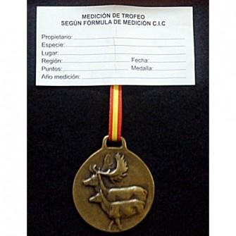 Medalla Bronce Gamo