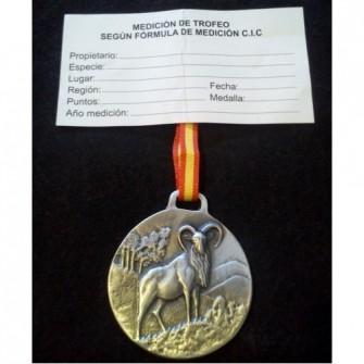 Medalla Plata Muflon