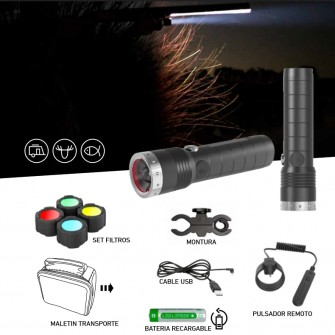 Led Lenser MT14 Kit Caza