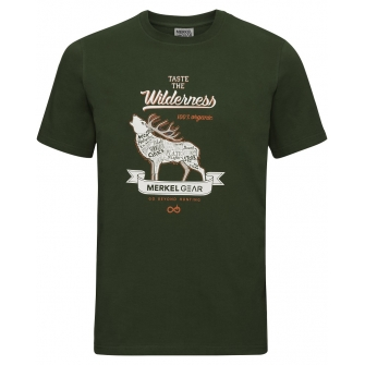 Merkel T Shirt Organic Stag
