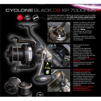 Cinnetic Cyclone Black DS...